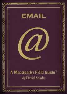 MacSparky Email Field Guide Cover